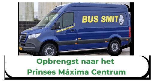 Bus Smit met laadklep (11m³)